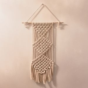 Handmade Boho Macrame Wall Hanging
